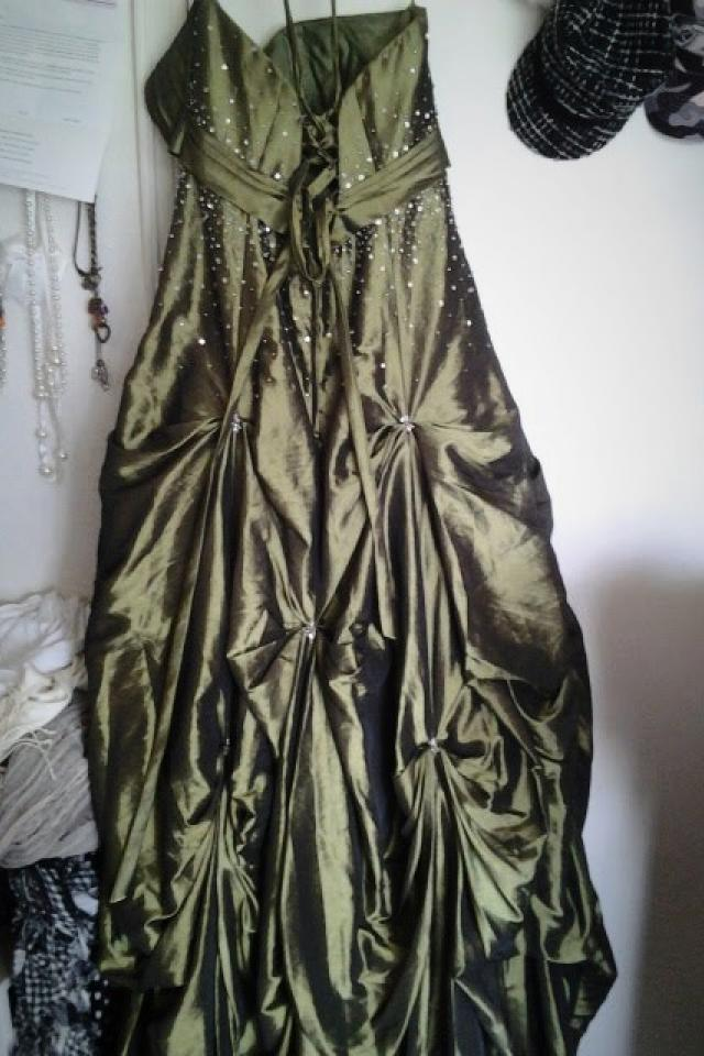 Green Princess Formal Dress Photo
