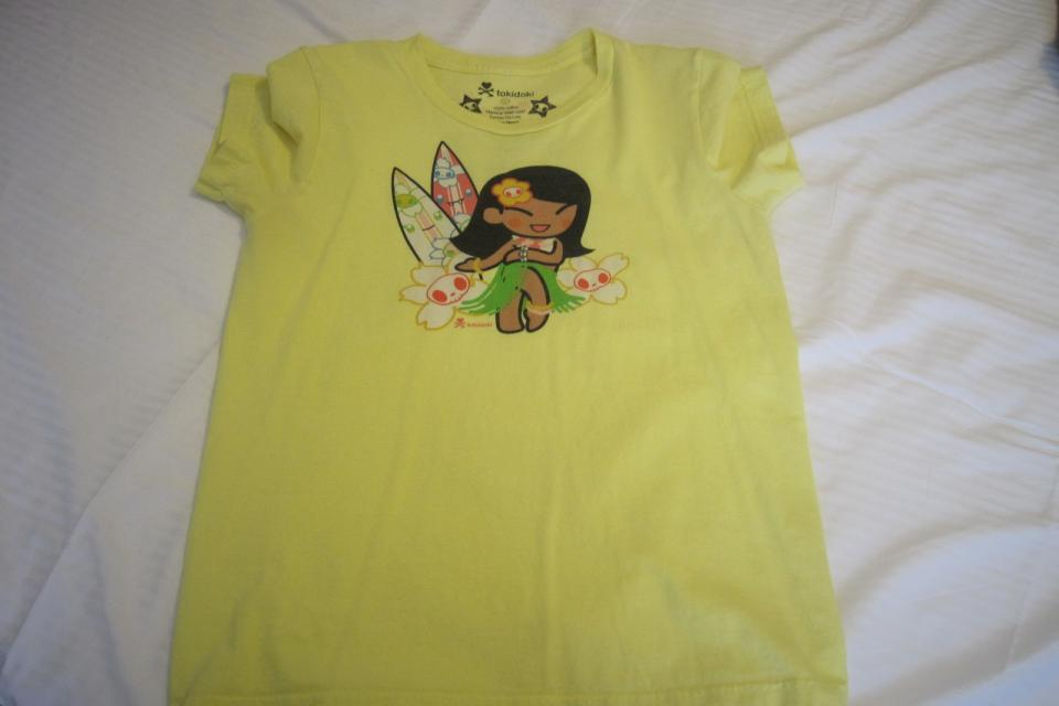 Tokidoki, Yellow, Tshirt, Tee Large Photo
