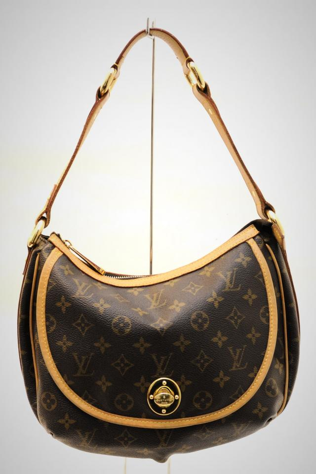 Louis Vuitton Brown Monogram Talem Hobo Photo