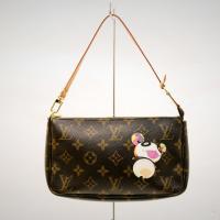 Louis Vuitton Limited Edition Brown Monogram Animal Pochette Photo