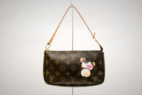 Louis Vuitton Limited Edition Brown Monogram Animal Pochette Photo