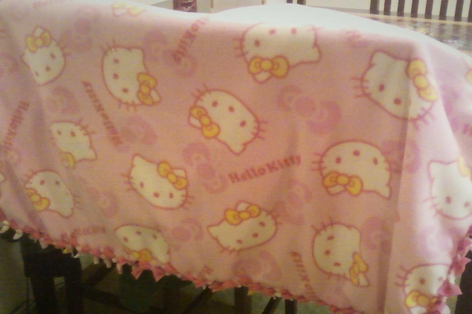 Pink Hello Kitty Large Photo