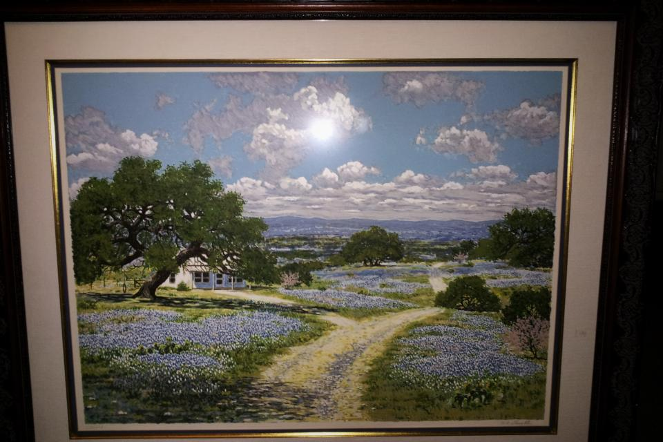 Spring Garden by W. A. Slaughter 155/450 Large Photo