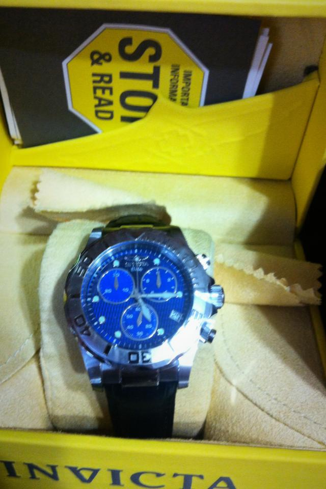 Invicta watch... Photo
