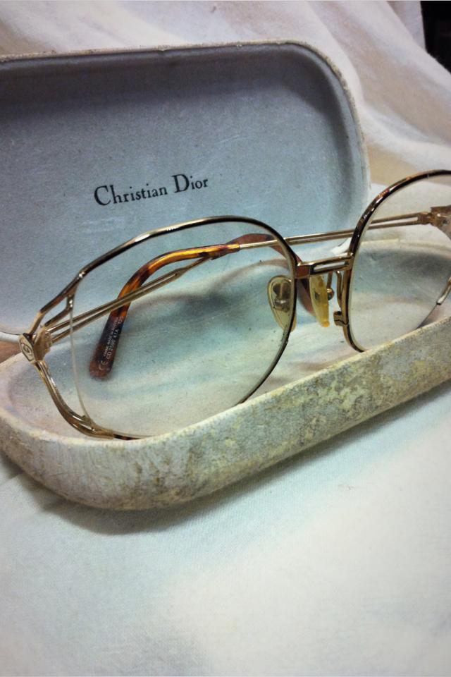 Authentic 70's Christian Dior Glasses Photo