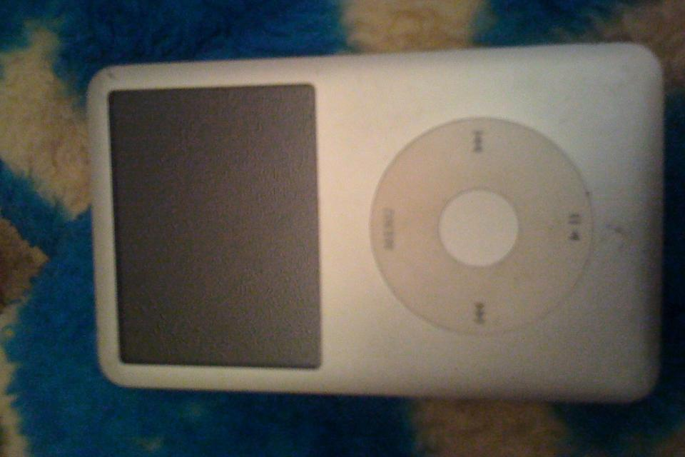 ipod classic 80gb silver Large Photo