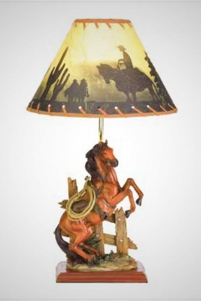 Horse Lamp Large Photo