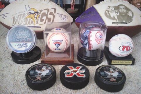 Sports memorabilia Photo