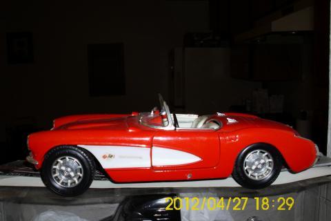 toy 1957 corvet Photo
