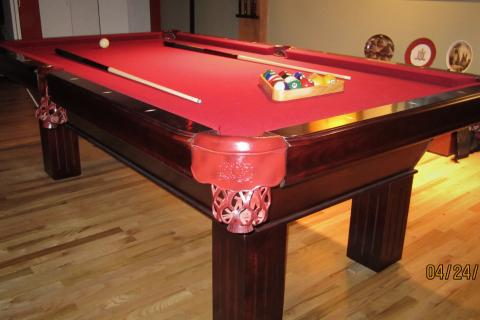 High End Pool Table Photo