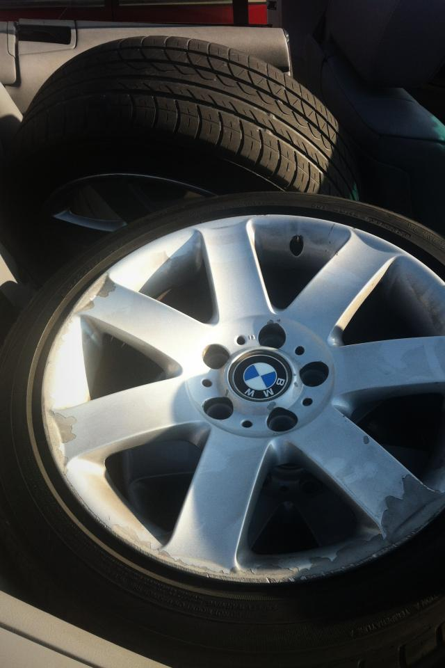 17 inch Bmw tires and wheel