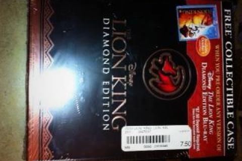 Lion King Box set Photo