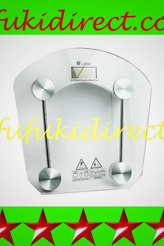 NEW DIGITAL LCD CLEAR GLASS WEIGHT BODY FAT BATHROOM HEALTH PERSONAL SCALE Photo