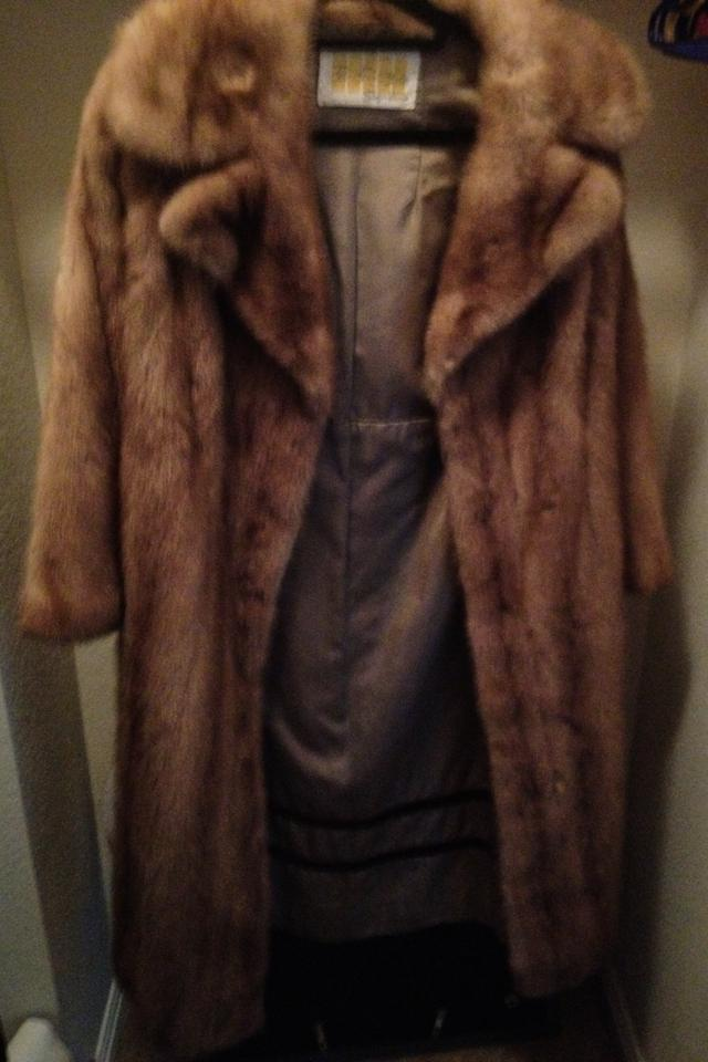 Mink fur jacket coat Photo