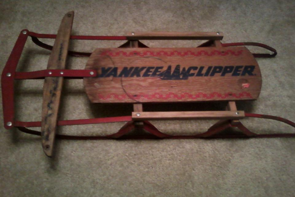 1950's Yankee Clippers Sled Large Photo