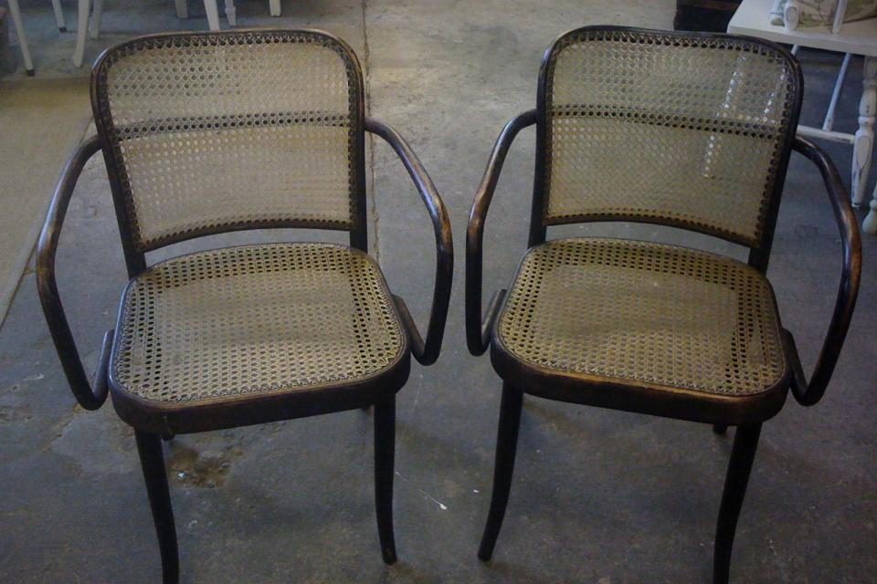 Vintage Original Stendig Bentwood Chairs Large Photo