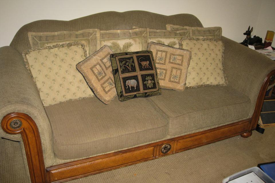 Sofa and Love Seat Large Photo