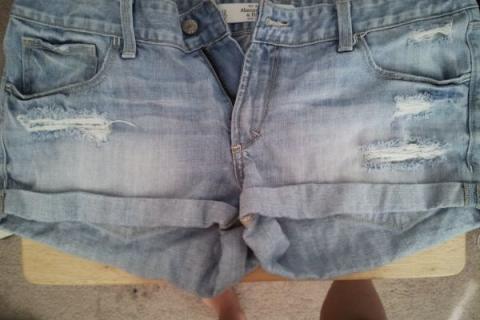 Abercrombie jean shorts Photo