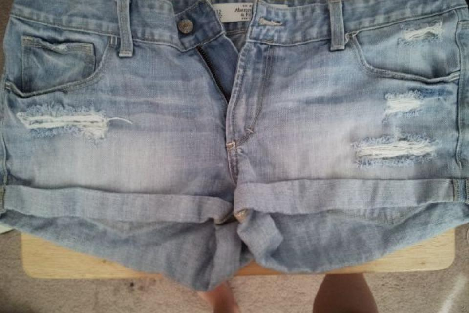 Abercrombie jean shorts Large Photo