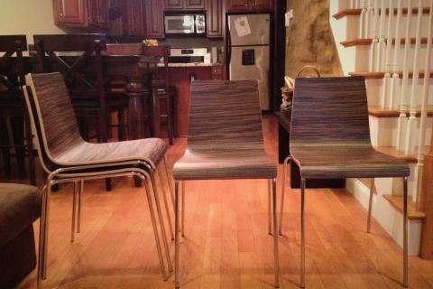 Blu Dot Chairs, QTY 4 Photo