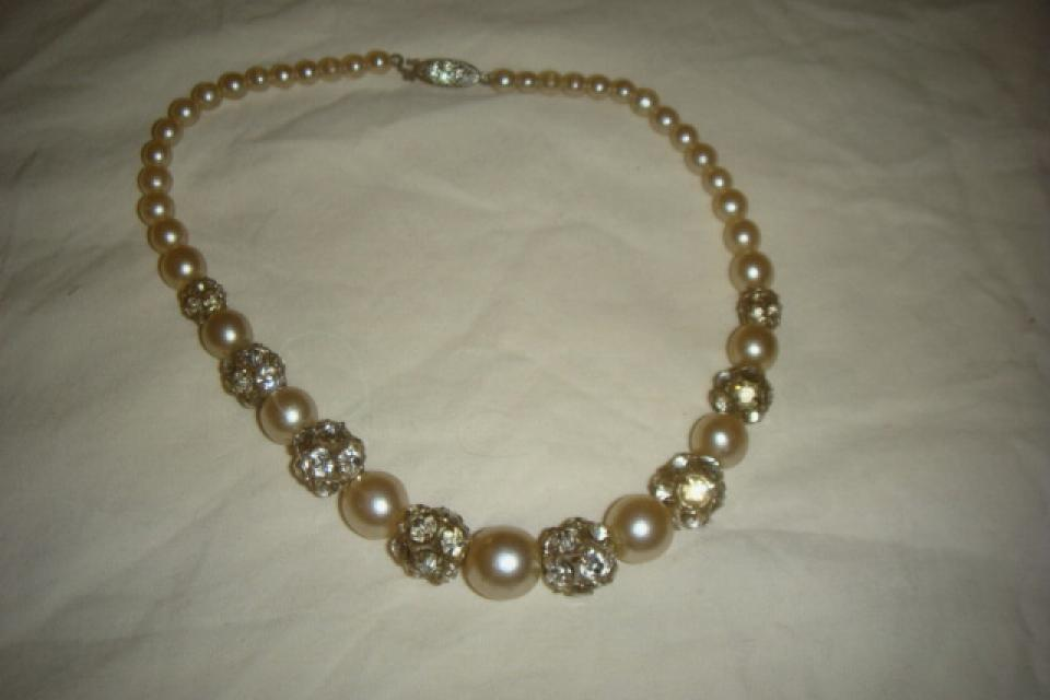 Vintage pearl necklace  Larg