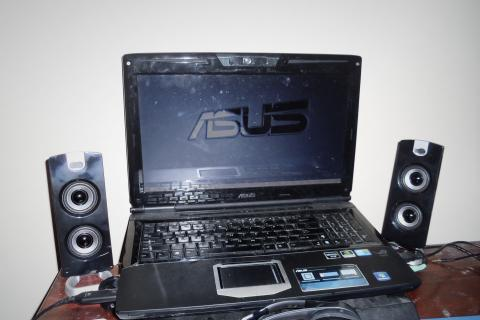 Asus G51J Gaming Laptop Photo