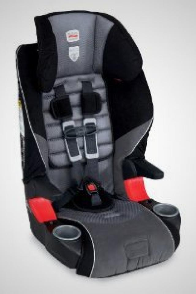 2 Britax Frontier Harness Booster Seats for Car Photo