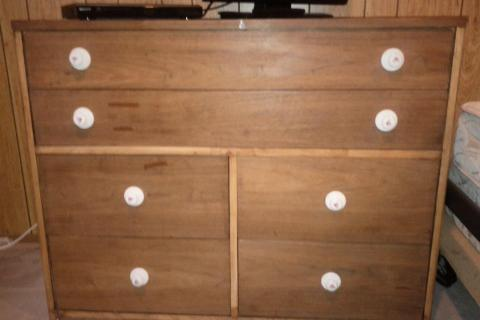 Wood dresser  Photo