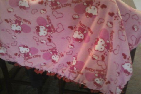 Pink and Red Hello Kitty Photo