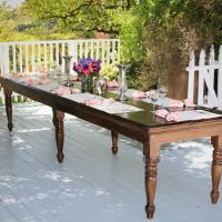 Antique Pine Dining Table  Photo