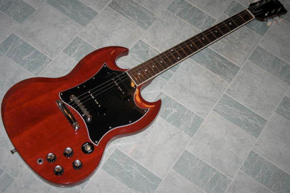 Gibson SG '69 Reissue. '08 Classic w/ p90's Large Photo