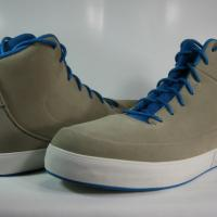 BRAND NEW Air Jordan Grown V.9 453930 201 Khaki Imperial Blue Light Bone - Size 10.5 Men's Photo