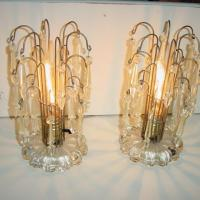 WATERFALL LAMPS 2 MIDCENTURY MODERN  Photo