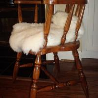 Vintage Captain's Chair - Solid Wood Photo