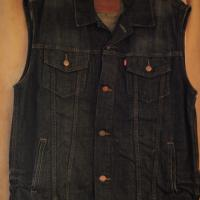 LEVI'S Dark Denim Vest Photo