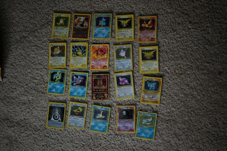 POKEMON CARDS. HARD TO FIND Large Photo
