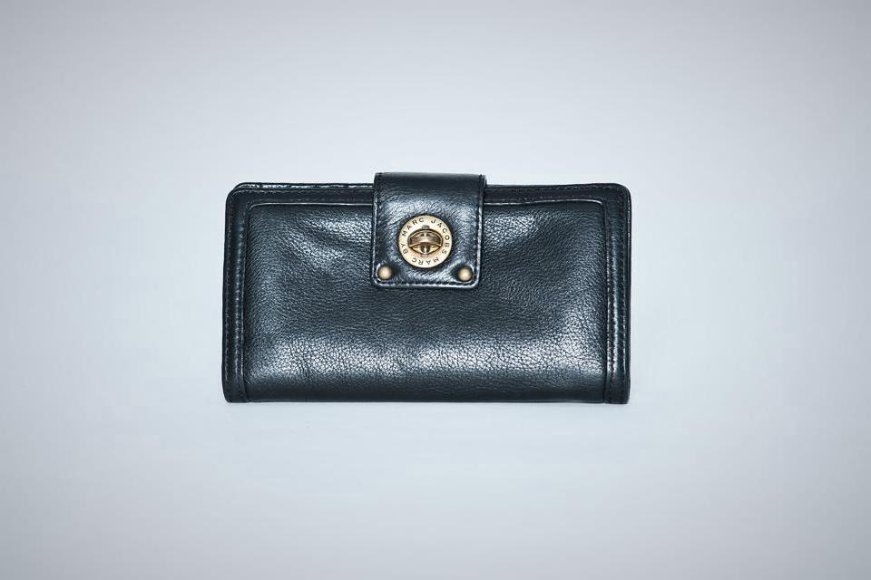 Marc by Marc Jacobs Black Wallet Large Photo