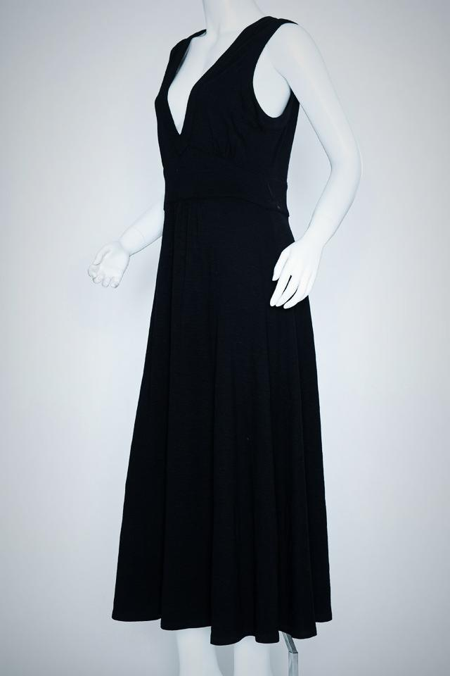 DKNY Long Black Dress Photo
