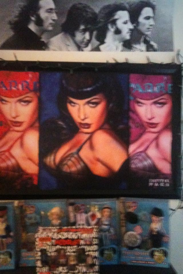 Bettie Page Painting!!! Large Photo
