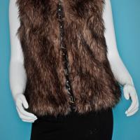BB Dakota 'Garrett' Faux Fur Vest Photo
