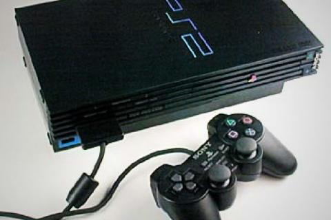 PlayStation 2 with accesories Photo