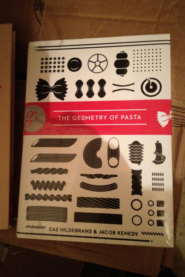 Wholesale lot of 11 Brand new books-The Geometry of Pasta Photo