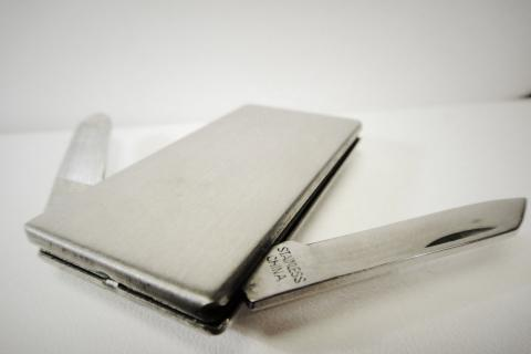 Stainless Steel Money Clip Photo
