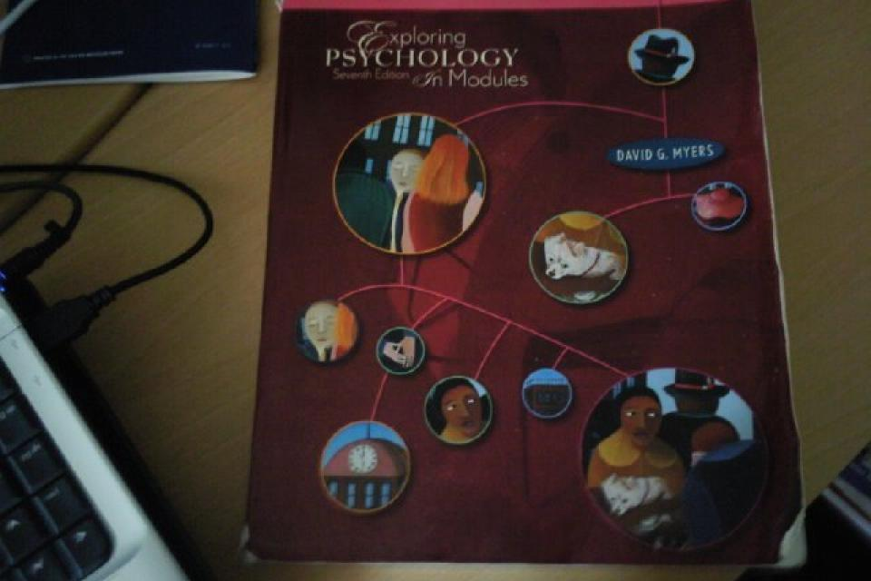 Exploring Psychology in modules 7th edition Large Photo