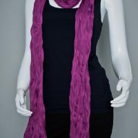Fuchsia Winter Scarf from Coldwater Creek Photo