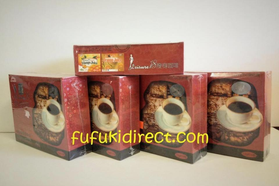 LOTS OF NEW & AUTHENTIC LEISURE 18 SLIMMING COFFEE - BRAZILIAN SLIMMING COFFEE Large Photo