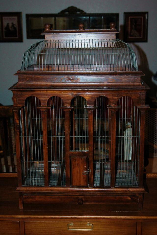 Vintage Bird Cage - 35