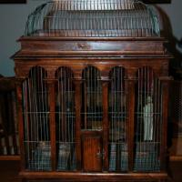 "Vintage Bird Cage - 35"" Tall X 25"" Wide X 16"" Deep Photo"