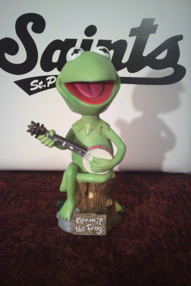 Kermit the Frog bobblehead Photo