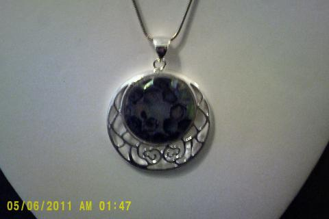 Sterling Silver Necklace Photo